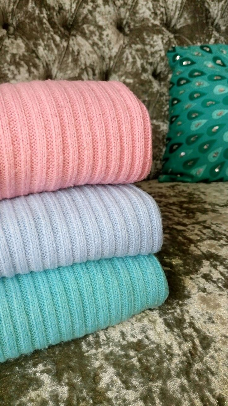 Colourful knits