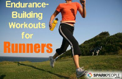 Simple running and walking workout plans to help build endurance. Pinning this for later!! via @SparkPeople
