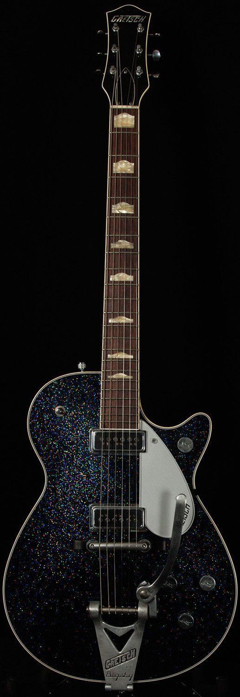 Model : Masterbuilt G6131CS 1957 Duo Jet Relic. Tailpiece : Bigsby. Bridge : Rocking Bar Pinned. Hardware : Chrome. Controls : Master Vol, Neck Vol, Bridge Vol, P/U Selector Switch and Tone Control. Body Wood : Chambered Mahogany Body. | eBay!