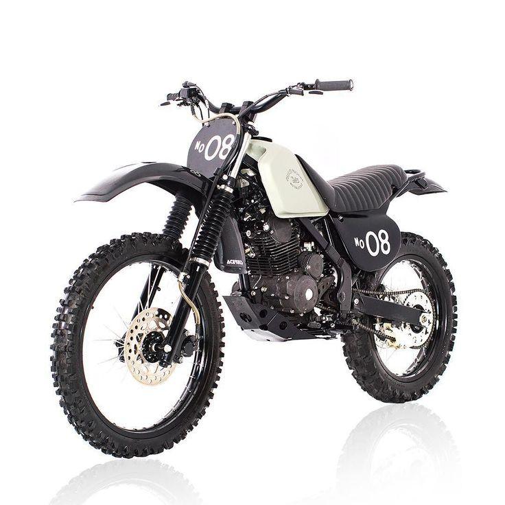 OVERBOLD MOTOR CO. — Dirt bikes aren't always gaudy, plastic creations...