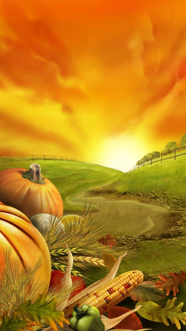 iPhone 5 Wallpapers Thanksgiving Day Thanksgiving
