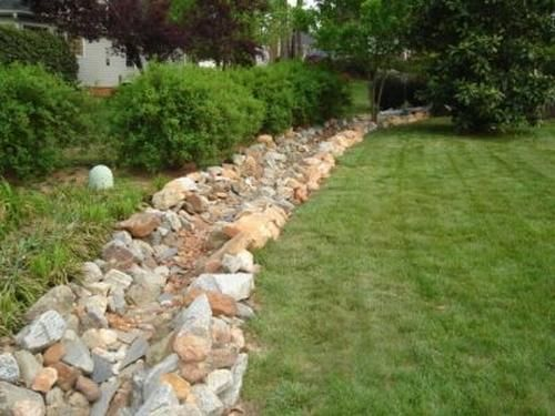 Decorative Yard Drainage : Best images about berm landscaping on pinterest vinyl
