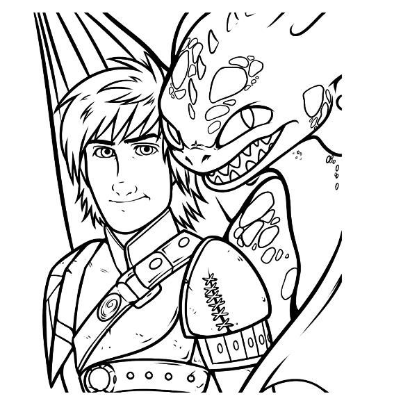 Kids N Fun Com Coloring Page How To Train Your Dragon 2 Hiccup Toothless Dragon Coloring Page How Train Your Dragon How To Train Your Dragon