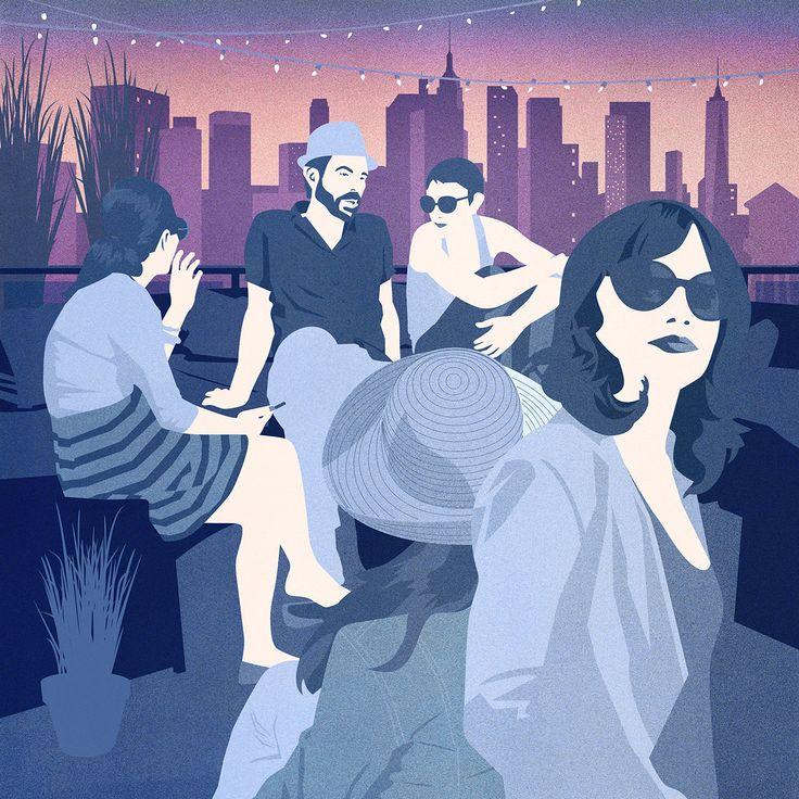 Cover for Mendola Artists annual calendar - Amy DeVoogd Illustration