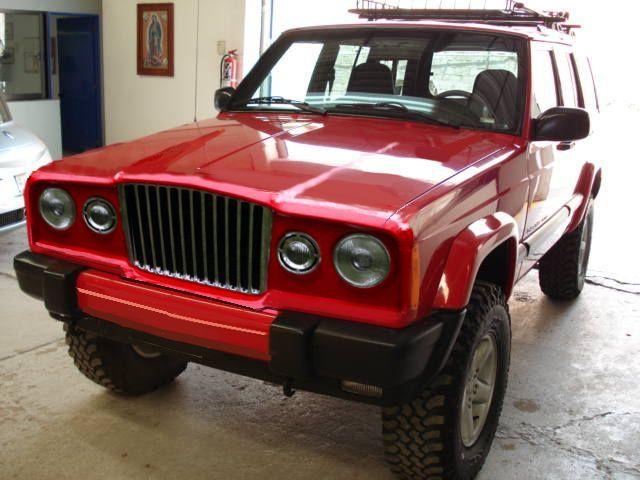 Jeep Cherokee Retro   Flickr - Photo Sharing!