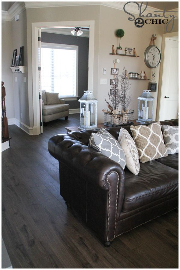201 Decorating A Living Room With Brown Leather Furniture 2021 In 2020 Brown Furniture Living Room Brown Living Room Brown Couch Living Room