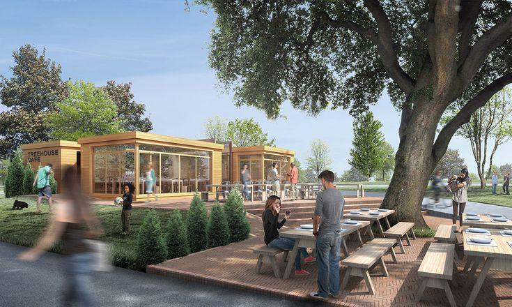 Mountsfield Park / Treehouse Cafe - London / United Kingdom
