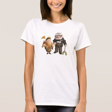 Russell and Carl from Disney Pixar UP! T-Shirt - tap to personalize and get yours