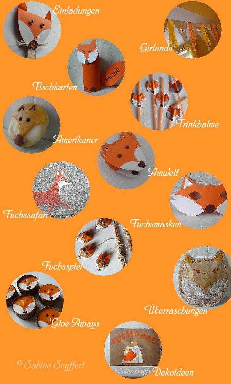 Fuchsparty  Toller Blog mit vielen anderen tollen Ideen!!!