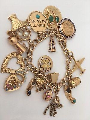528135bc3 Tiffany-amp-Co-14ct-Gold-Charm-Bracelet #14ctgoldbracelet | Jewelry ...