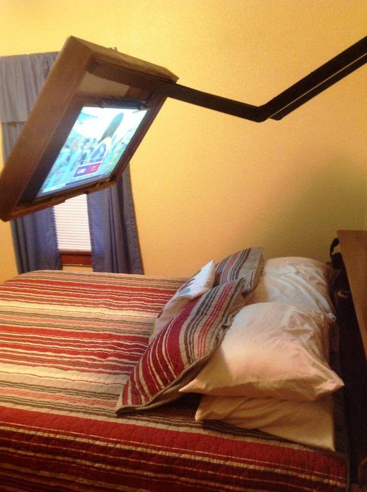 Hidden Vision Flip-around hidden TV mount - Picture frame tv mount - HVTV Spinning TV Mount