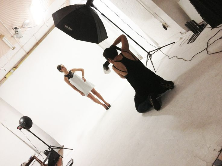 Behind the scenes…NV photo shoot