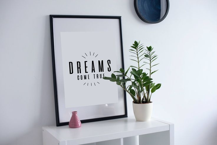 Dream Quotes, Life Quotes, Nursery Wall Art, Kids Room Decor, Inspirational Quote, Motivational Quotes, Typography Print, Quotes Posters by SilBarragan on Etsy