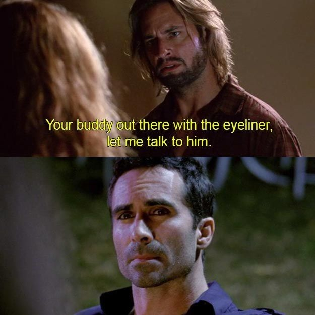 "When he just came right out and said what everyone else was thinking: | 17 Times Sawyer's Nicknames Were The Best Thing About ""Lost"""