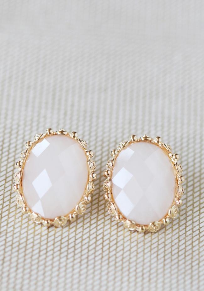 Romantic Blush Earrings