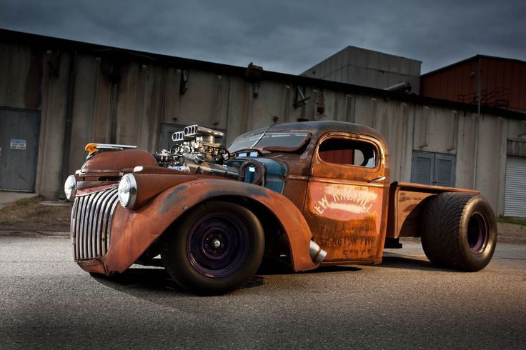 Sweet rat rod truck
