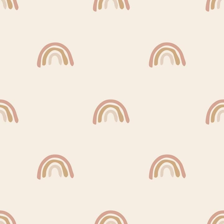 Parker Wallpaper Peach Wallpaper Rainbow Wallpaper Aesthetic Iphone Wallpaper