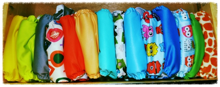 cloth diapering. Cloth diapers