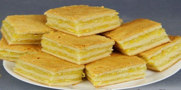 Нежнейшее пирожное с лимонно-апельсиновой начинкой. Рецепт простейший очень вкуснючее, тесто очень тонкое и мягкое, а начинка просто обалденная