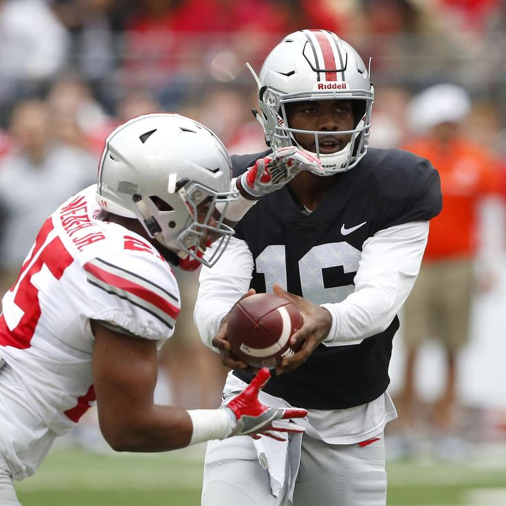 Scarlet Defeats Gray 38-31 Behind Joe Burrow in 2017 Ohio State Spring Game