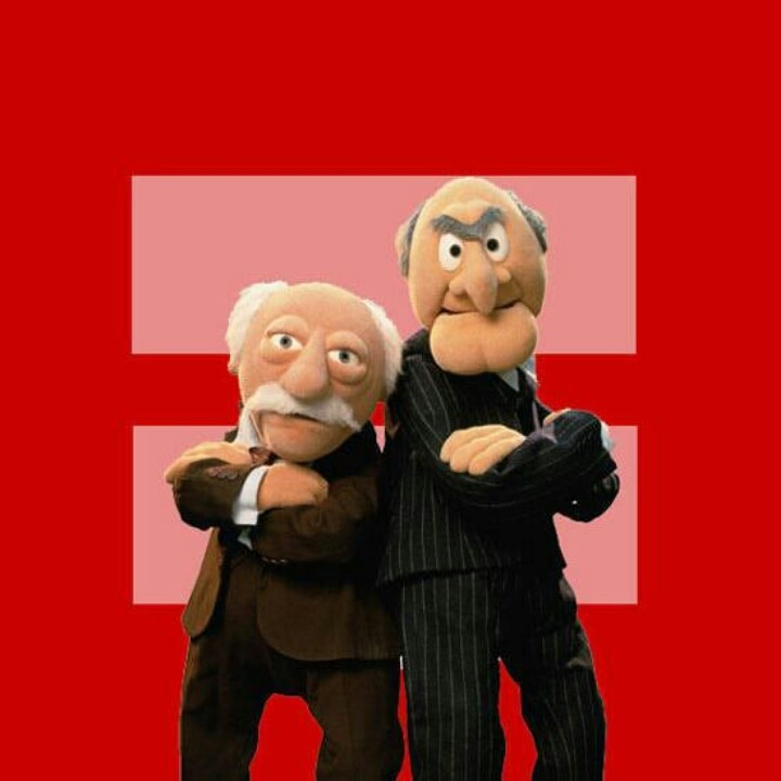 103 Best Images About The Muppets On Pinterest: Waldorf & Statler Images On Pinterest
