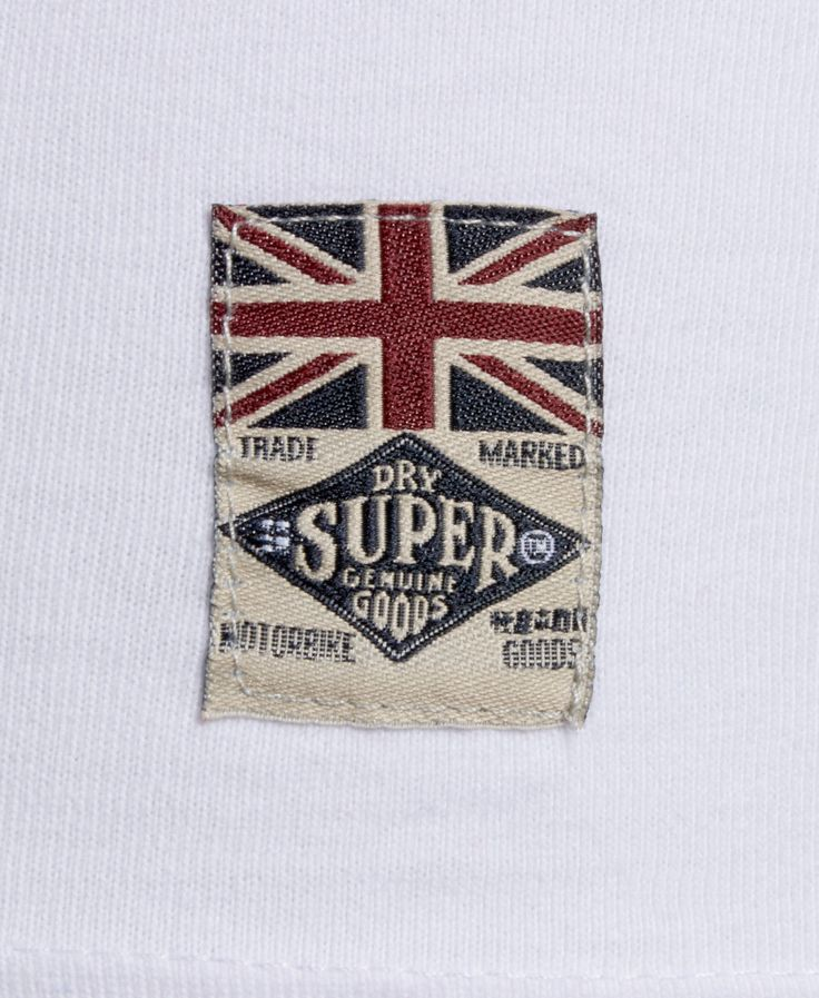 New Mens Superdry Factory Second Leathers Classic Biker T ...