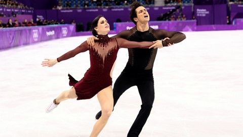 Canadian figure skaters reflect on Virtue and Moir's influence