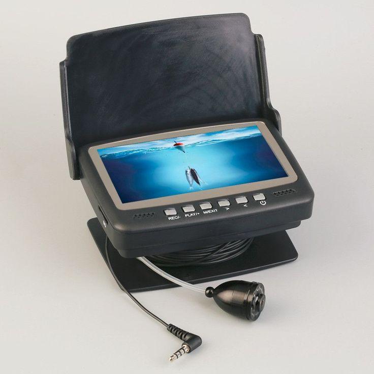 7HBS-DVR Fish Finder Video Underwater Fishing Camera Monitor Night Vision 15m Best Seller