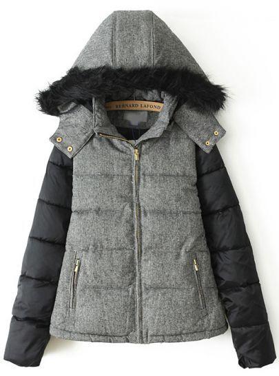 good lookin'! // #jacket #hooded #puffy #fur #parka