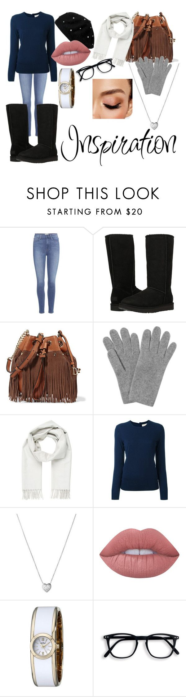 """New Years Eve ^^"" by mintyloverxoxo ❤ liked on Polyvore featuring Paige Denim, UGG Australia, Diane Von Furstenberg, L.K.Bennett, Brioni, Tory Burch, Links of London, Lime Crime, Caravelle by Bulova and Avon"