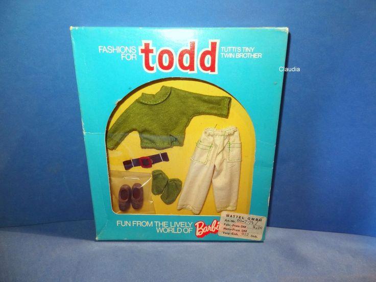 Vintage Tutti Todd European Fashion Pulli Und Hose Pullover Pants 7974 | eBay