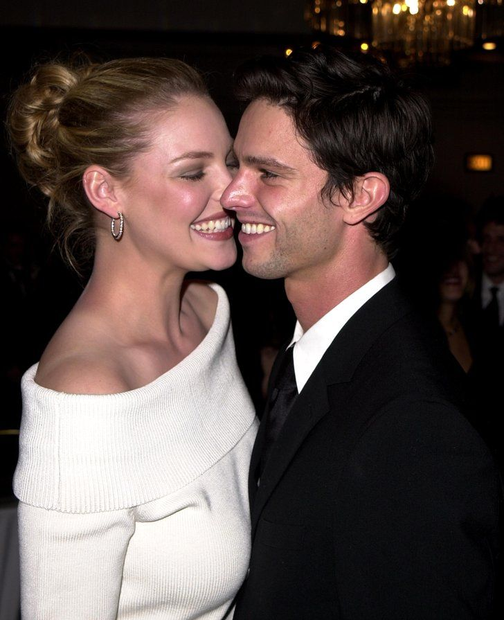 Pin for Later: 10 Celebrity Couples Who Fell in Love After Playing Onscreen Siblings Katherine Heigl and Jason Behr