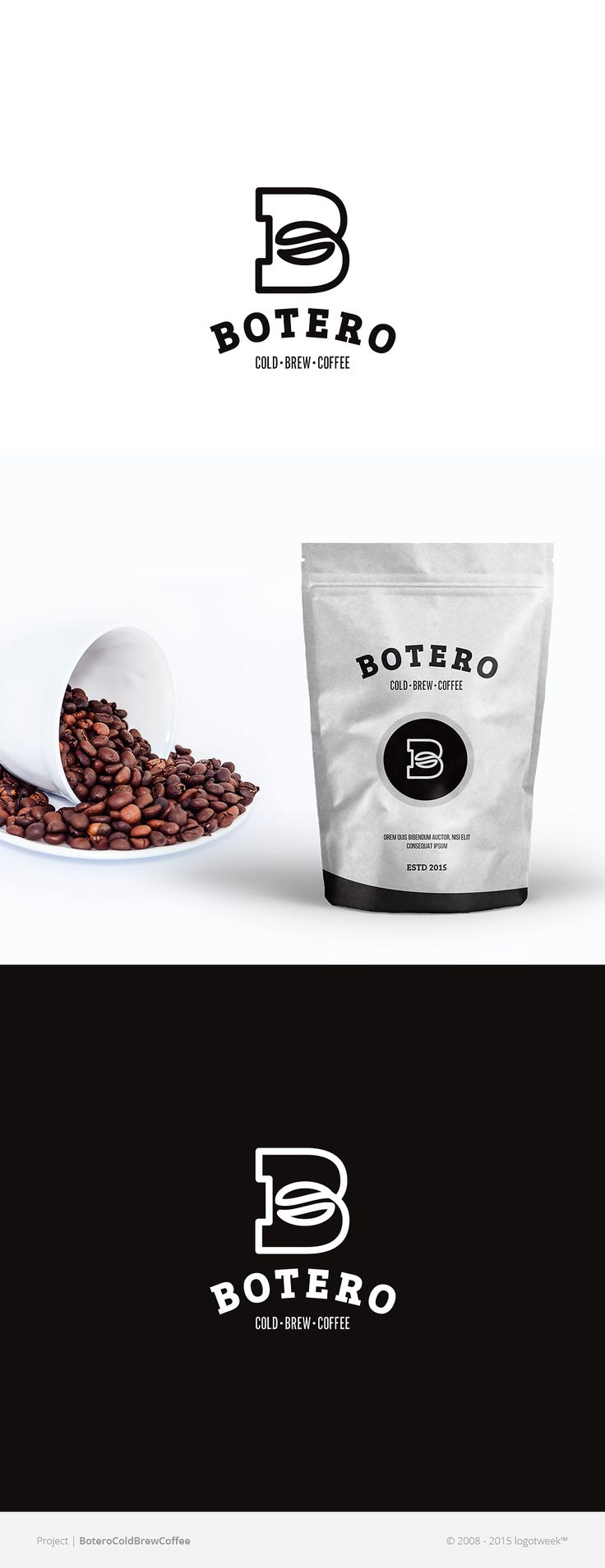 Botero Cold Brew #Coffee #logo