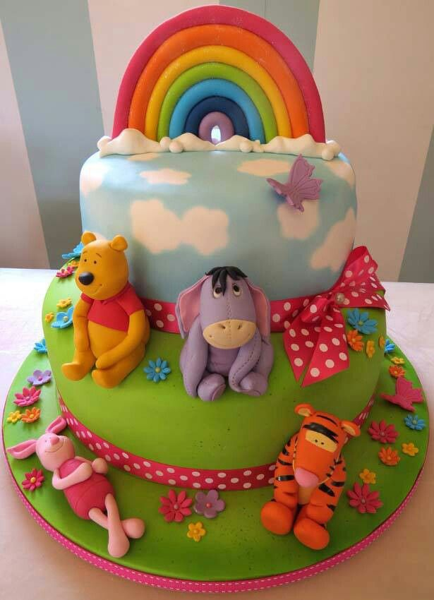 Winnie the pooh cake. I really want to make this!!