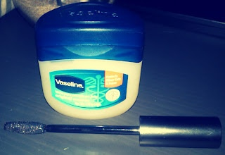 Vaseline Mascara - great way to save some money & your lashes!