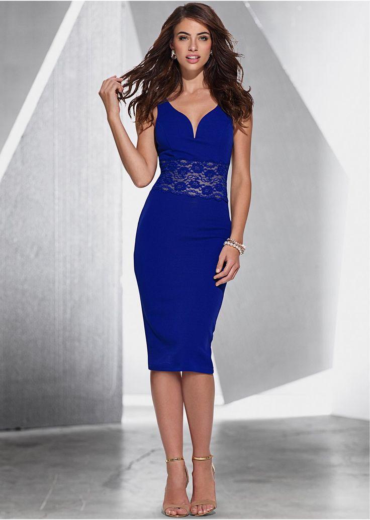 Sukienka z koronką Must-have w każdej • 124.99 zł • bonprix