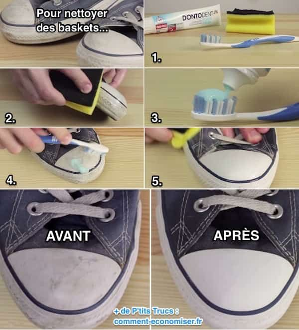 comment nettoyer ses baskets blanches comme neuves