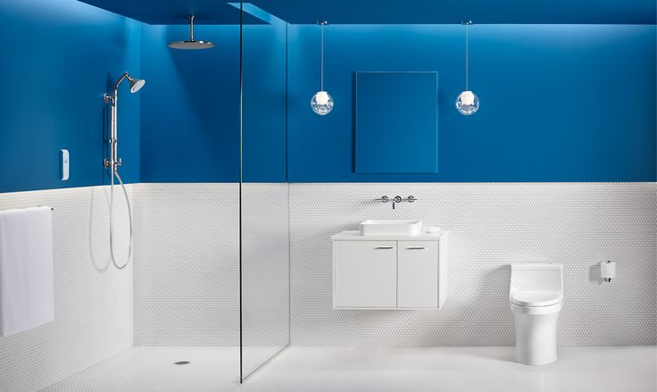 17 Best Images About Sleek Sanitary Bathroom On Pinterest Toilets Midnight Blue And Posts
