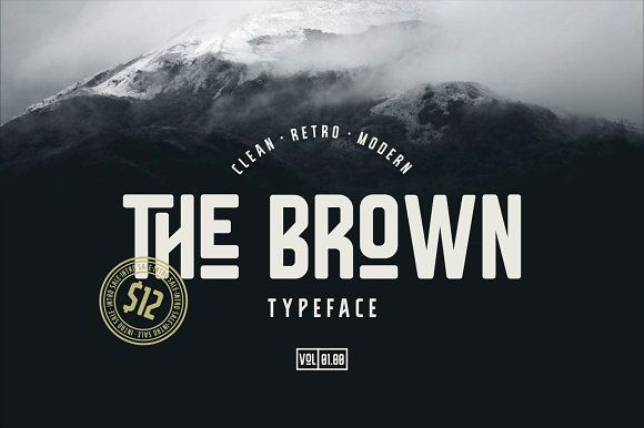 The Brown  by Surotype on @creativemarket