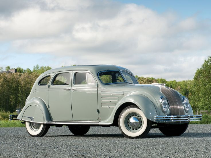 La Chrysler Airflow è stata la prima autovettura ad essere disegnata privilegiando l'aerodinamica piuttosto che il design.