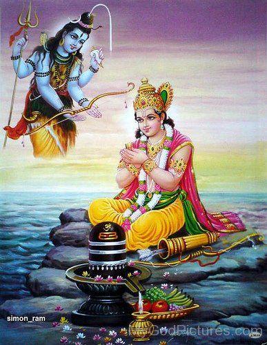 Lord Rama Worship Lord Shiva