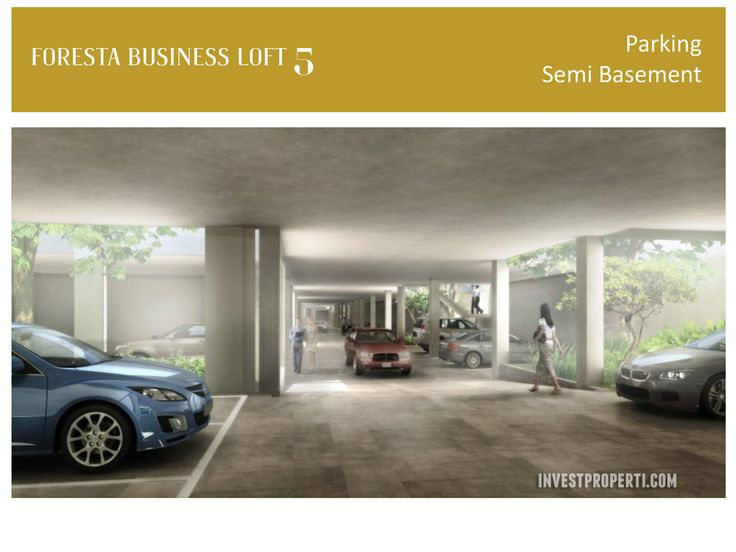 Foresta Business Loft 5 Parking Semi Basement.