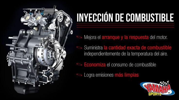 Tecnología #Yamaha que economiza combustible. #FuelInjection