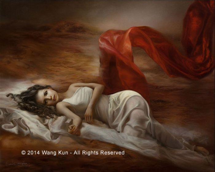 Desire by Wang Kun at Quent Cordair Fine Art - The Finest ...