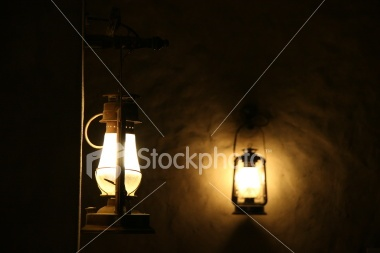 Two Lamps Royalty Free Stock Photo