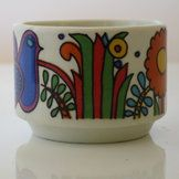 Acapulco pattern egg cup www.vintagetreasure.co.nz