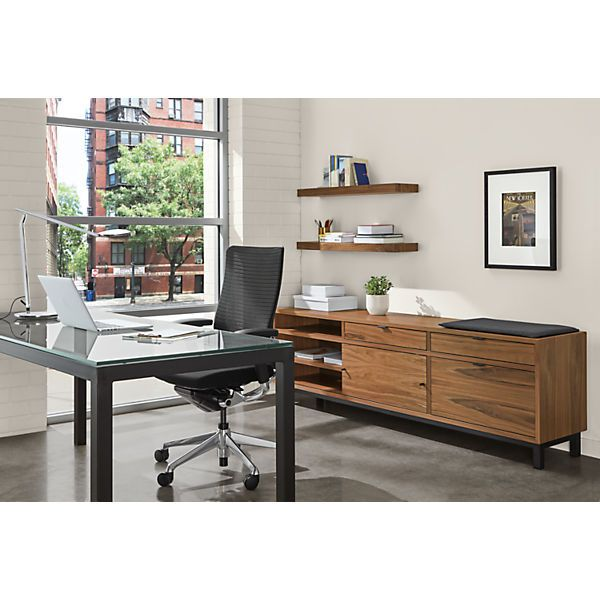 Copenhagen File Storage Benches With Cushion Modern File Storage Cabinets Modern Office Furniture With Images Parsons Desk Storage Bench With Cushion Office Furniture Modern