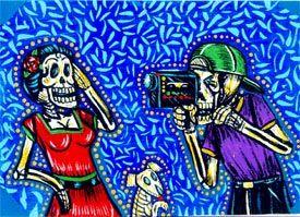 Day of the Dead video - Dia de los Muertos video - El Dia de los Muertos - azcentral.com BEST!