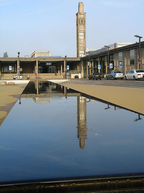 Enschede train station - good memories of arriving here :)