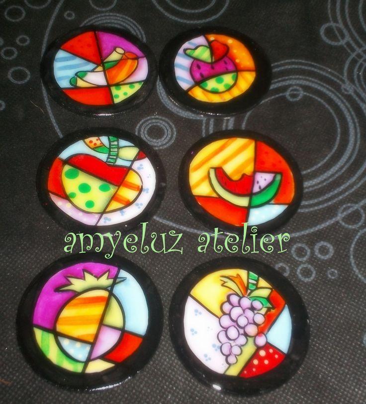 Imanes para la nevera con diseños de Romero Britto